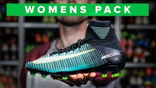 UNISPORT | COOLER THAN THE MENS COLOURS? Nike womens football boots
