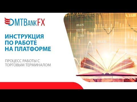 Видео инструкция по работе на платформе MTBankFX