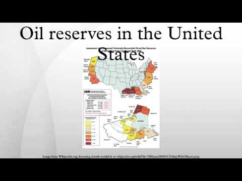 Oil reserves in the United States