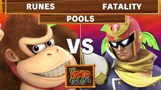 Kongo Saga - Runes (Donkey Kong) Vs Fatality (Captain Falcon) Winners Pools