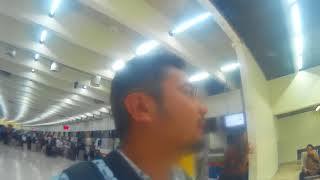 Check In Lion Air di Counter Check In Terminal 1 A Bandara Soekarno Hatta
