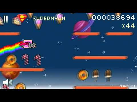 Nyan Cat: Lost in Space = BEST GAME EVER!