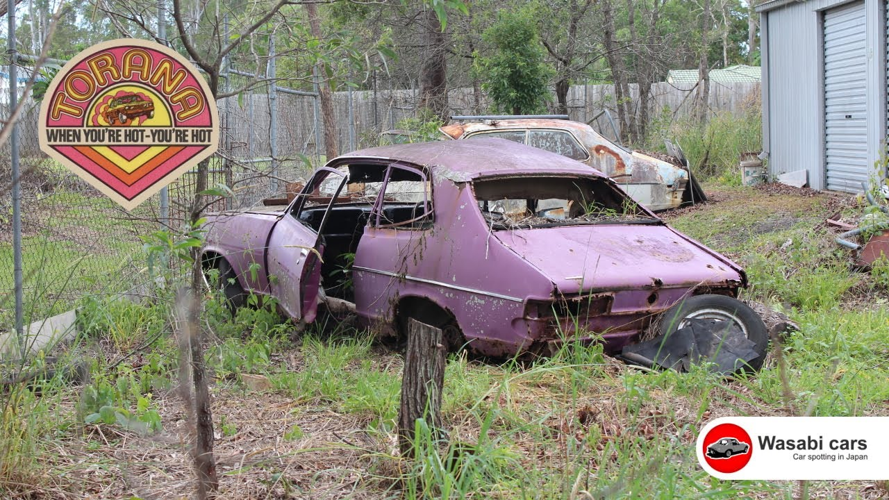 Abandoned In Australia Four Down N Out Holden Torana LC Or LJ Coupes