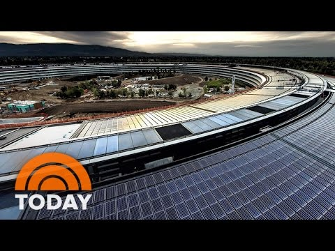 Apple's New Headquarters In Cupertino Sneak Peek | TODAY