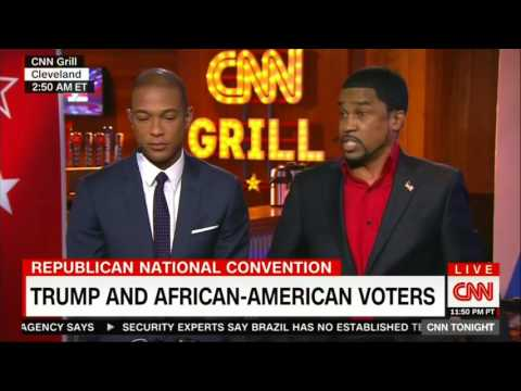 Pastor Darrell Scott takes on CNN's Bakari Sellers and Don Lemon at 2016 RNC