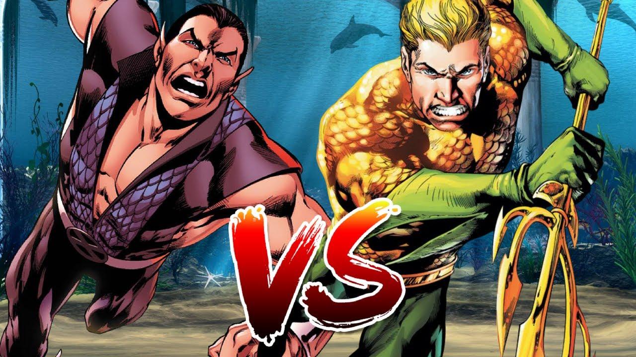 Aquaman Vs Namor The Submariner Who Wins Youtube