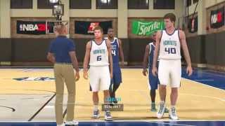 NBA 2K15 Mode Mon Joueur Début de l