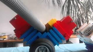 biggest  lego vacuum  engine in the world