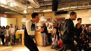 "B5 Performing ""Say Yes"" Live at the Motown Offices in NYC 8/20/13"