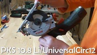 Scie circulaire Bosch PKS 10.8 Li (UniversalCirc 12) - Bonus