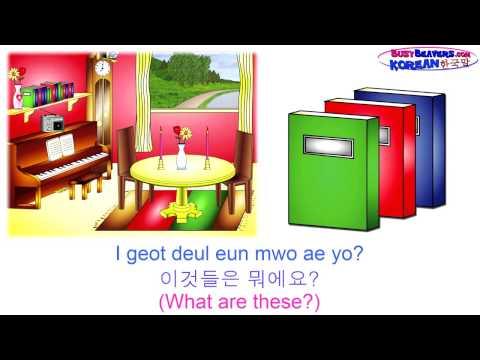 Korean Level 1 DVD - 56 Minutes, Learn To Speak Korean, 한국어, 한국말, Easy Korean