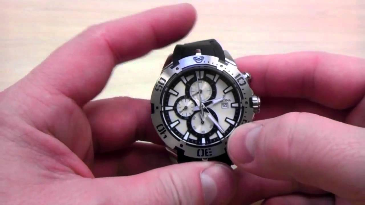 2804e589822 FESTINA Chrono Sport 16672 1 - YouTube
