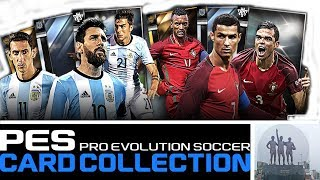PES CARD COLLECTION   5X (91+ 5 STAR DRAWS PULLED) #PESCC