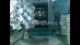 Дробеструйная установка кранового типа в работе, (Дробомет, дробемет)((Дробомет, дробемет), 2014-08-12T03:30:59.000Z)