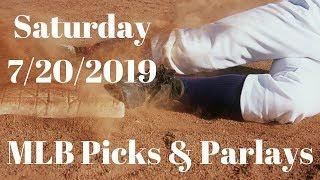 7/20/2019 MLB Picks- Saturday MLB Picks & Parlays & Round Robins- FREE MLB Picks!!!!
