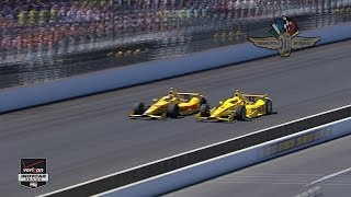 2014 Indianapolis 500 Highlights
