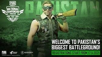 Welcome to Pakistan's biggest Battleground | PUBG MOBILE National Championship Pakistan 2021
