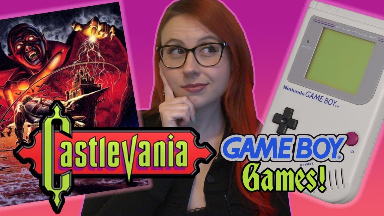 A Quick Look at Castlevania Game Boy Games - Erin Plays
