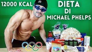 PROVO LA DIETA DI MICHAEL PHELPS! [12000 KCAL]