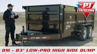 "PJ 83"" Low-Pro High Side Dump (DM) Walk-around"