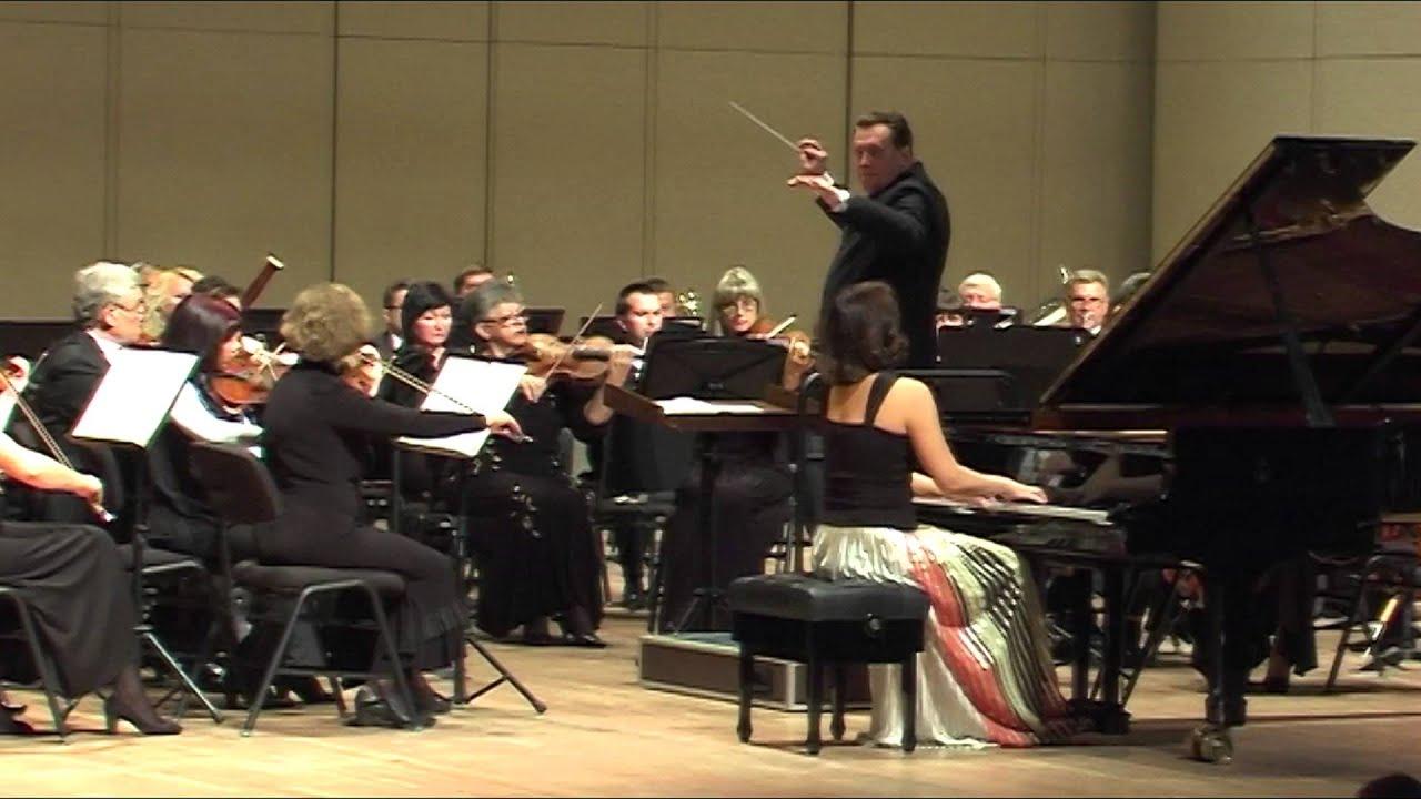 С. Рахманинов: концерт для фортепиано с оркестром no. 2 до минор.
