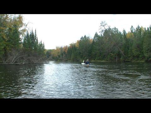 Borchers Canoe and Grayling Michigan - YouTube