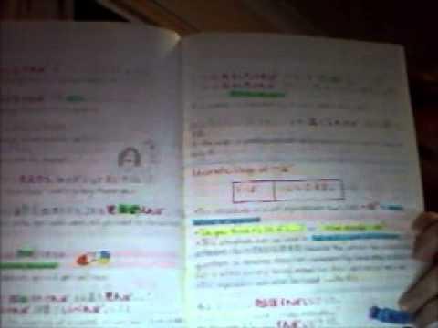 Colour Coding Your Notes