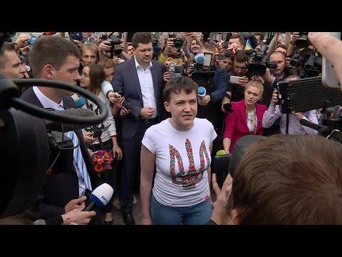 Промова Савченко в «Борисполі»