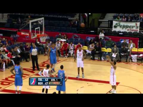 Andrew Goudelock vs. Tulsa 66ers (42 points and 9 assists)