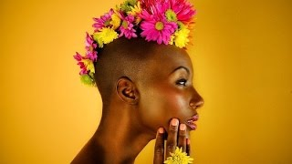 Beautiful Bald Black Women ( eye candy edition )