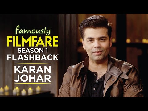 Karan Johar talks about fatherhood, movies and finding love | Famously Filmfare S1 | Throwback