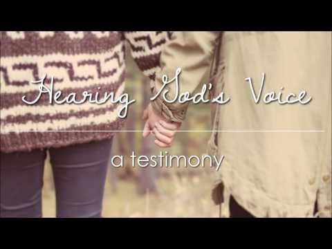 Hearing Gods Voice A Testimony YouTube