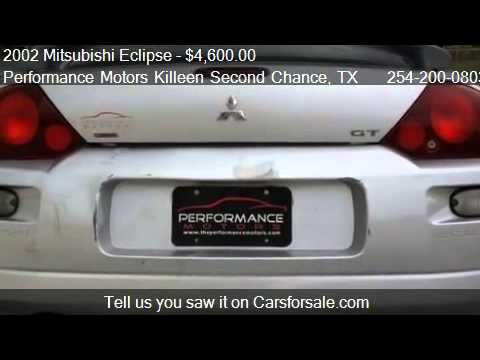 2002 Mitsubishi Eclipse Gt For Sale In Killeen Tx 76543