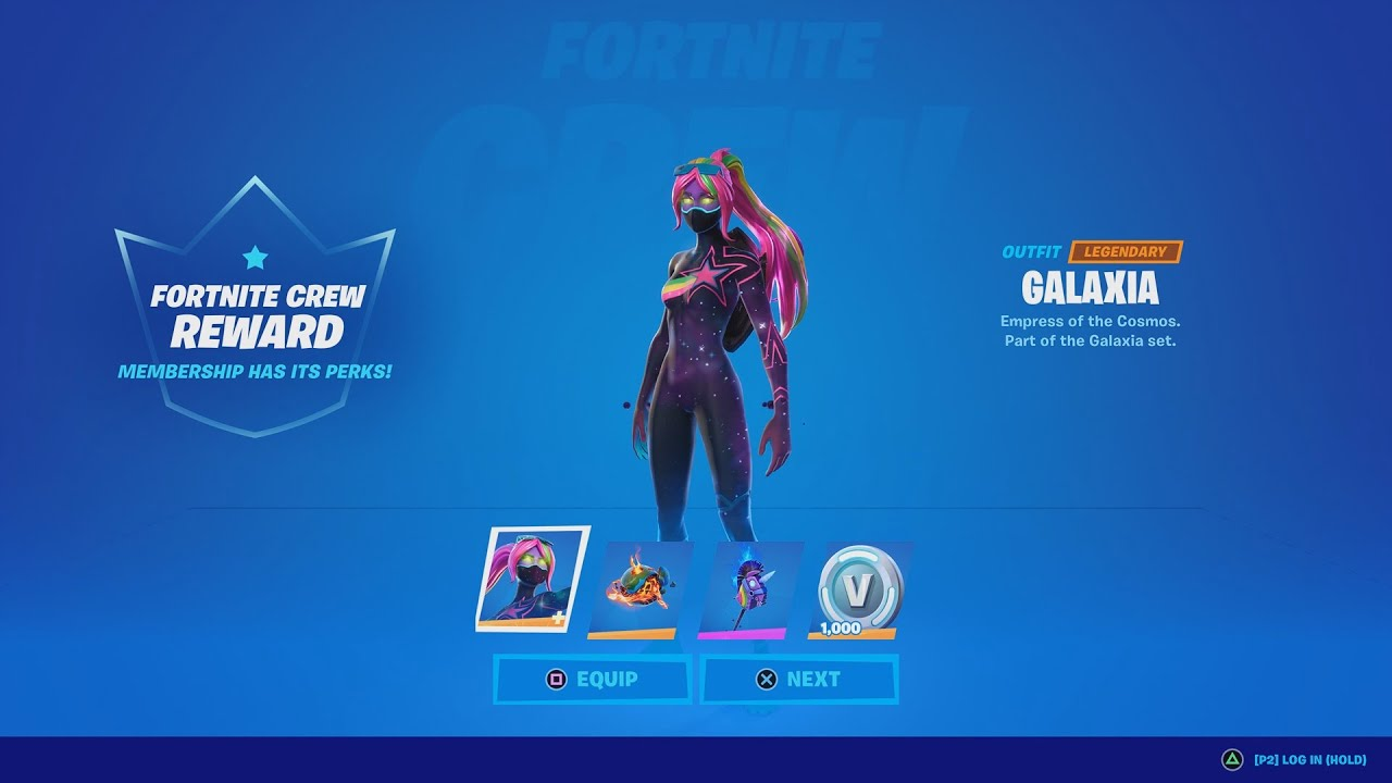 Fortnite Monthly Crew Pack Galaxia Skin Gameplay Review Buying Fortnite S Monthly Subscription Youtube All skins leaked promo skins other outfits sets all packs. fortnite monthly crew pack galaxia skin gameplay review buying fortnite s monthly subscription