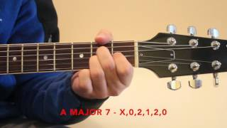 introduction to 7th chords lesson jason s guitar channel