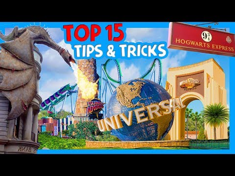 TIPS AND TRICKS FOR UNIVERSAL STUDIOS AND HARRY POTTER WORLD