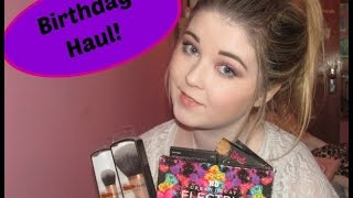 18th Birthday Haul - Urban decay, sleek, real techniques and more Thumbnail