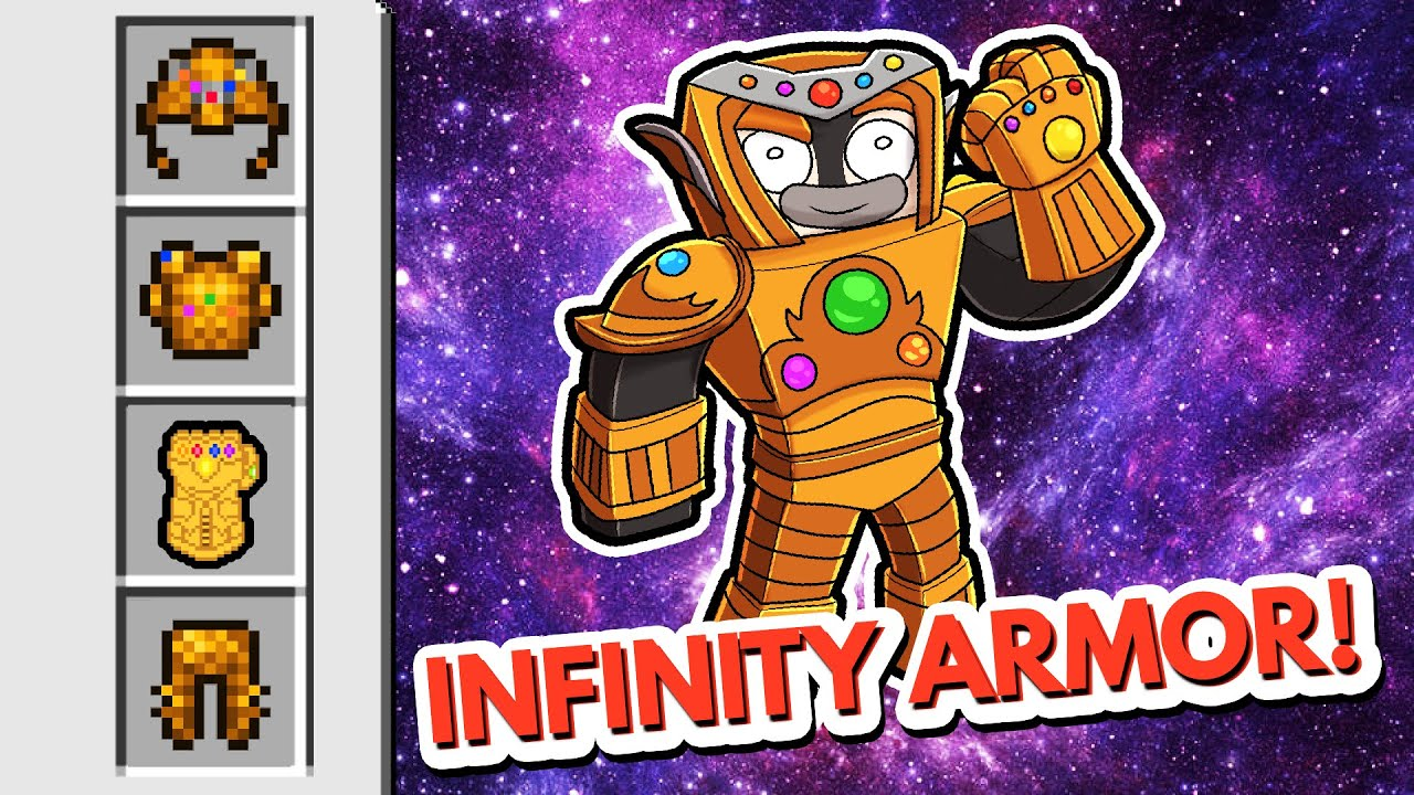 After 1 Year...I Craft INFINITY ARMOR! (Scramble Craft)