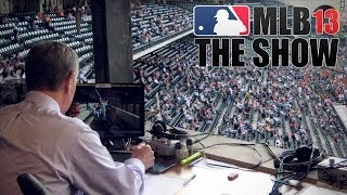 MLB The Show '13 Ep1 Part I - Too Terrible for TV