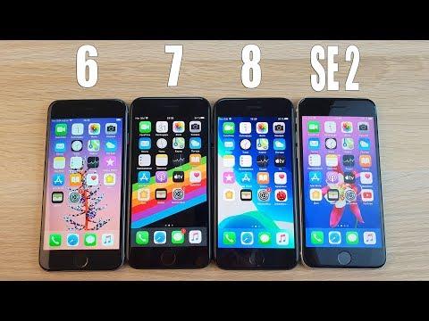 IPHONE 6 VS 7 VS 8 VS SE 2 - ЧТО ЖЕ ВЗЯТЬ? ОДИН И ТОТ ЖЕ ДИЗАЙН, НО НАЧИНКА РАЗНАЯ!