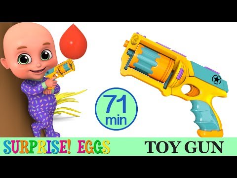 Kids Toys - Toy Gun - Surprise Egg Unboxing - Racing Car Videos and Many more from Jugnu Kids