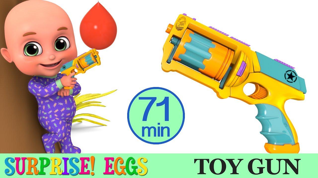 Kids Toys Toy Gun Surprise Egg Unboxing Racing Car