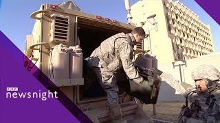 PART 2: Embedded in Iraq with Gator Company 2007 - Newsnight Archives