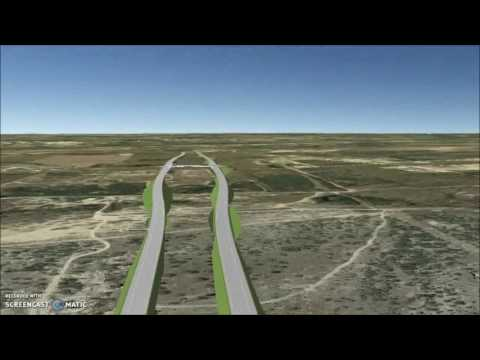 State Loop 195 Project Flyover -  Pharr District