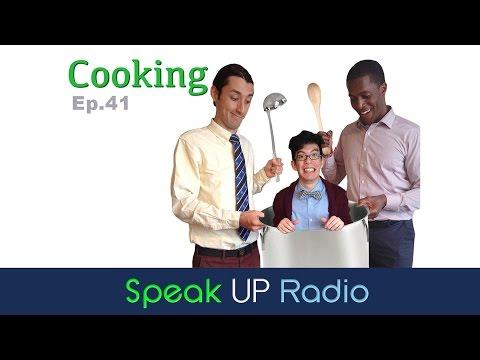 ネイティブ英会話【Ep.41】料理  - Speak UP Radio -