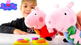 Видео для детей: Пикник и Свинка Пеппа смотреть онлайн. Пластилин видео(Видео для детей с игрушками, приключения Свинки Пеппы, детское творчество и лепка из пластилина! Сегодня..., 2016-06-01T09:28:49.000Z)