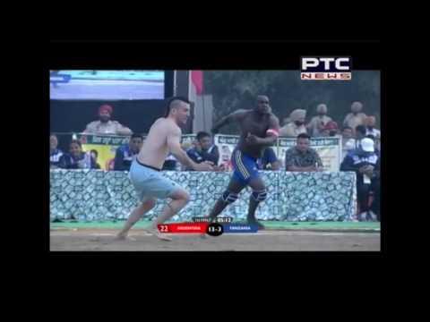 DR BR Ambedkar 6th World Cup Kabbadi Punjab 2016 | Argentina v/s Tanzania | Men | Match 1 |Gurdaspur