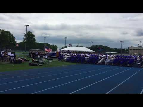 Braintree High School graduation 2018