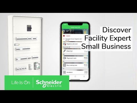 Discover EcoStruxure Facility Expert Small Business | Schneider Electric