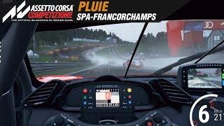 ✅ Assetto Corsa Competizione ▩ Spa Francorchamps sous la pluie Gameplay ▩ E3 2018